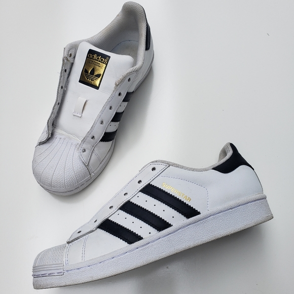 adidas superstar gold label